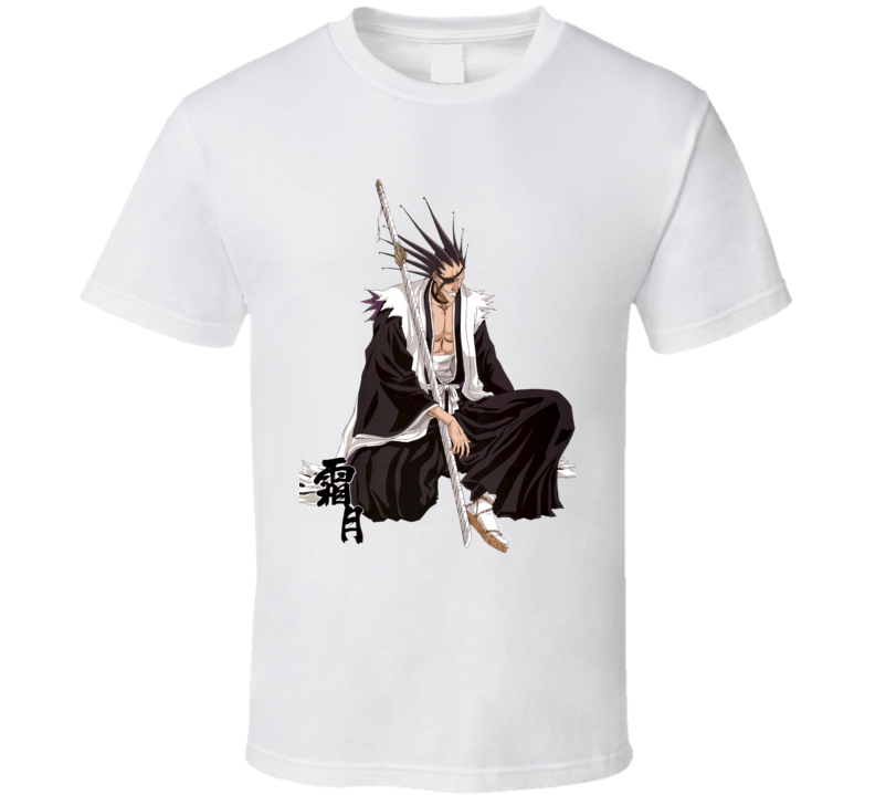 Kenpachi Zaraki - Bleach captain of the 11th Division in the Gotei 13 anime T Shirt