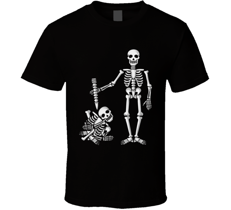 I've got your back funny parody skull skeleton back bones T Shirt