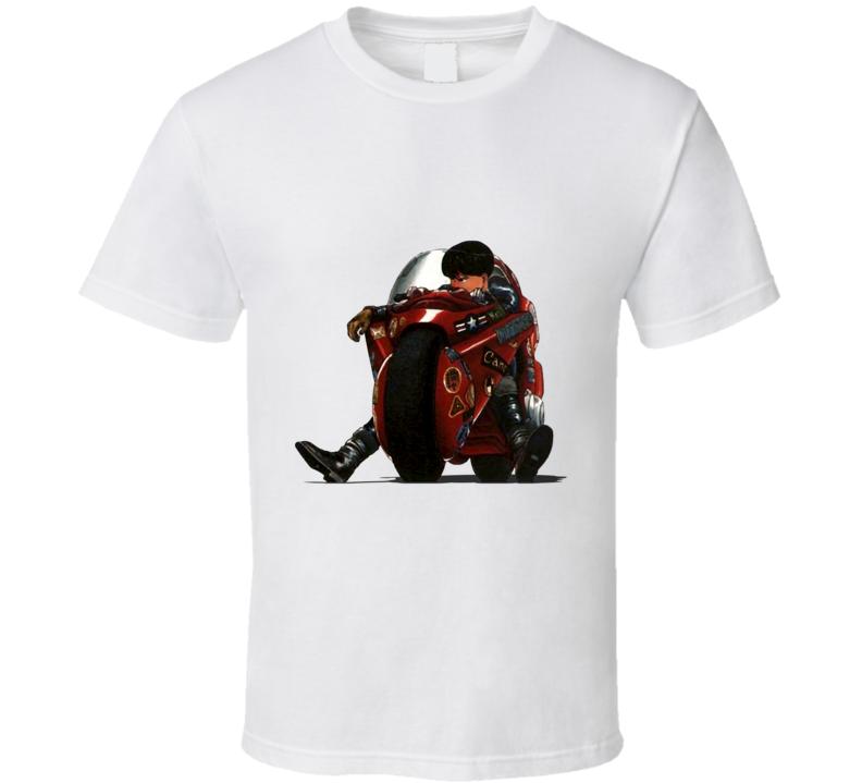 Akira manga anime kaneda riding bike T Shirt