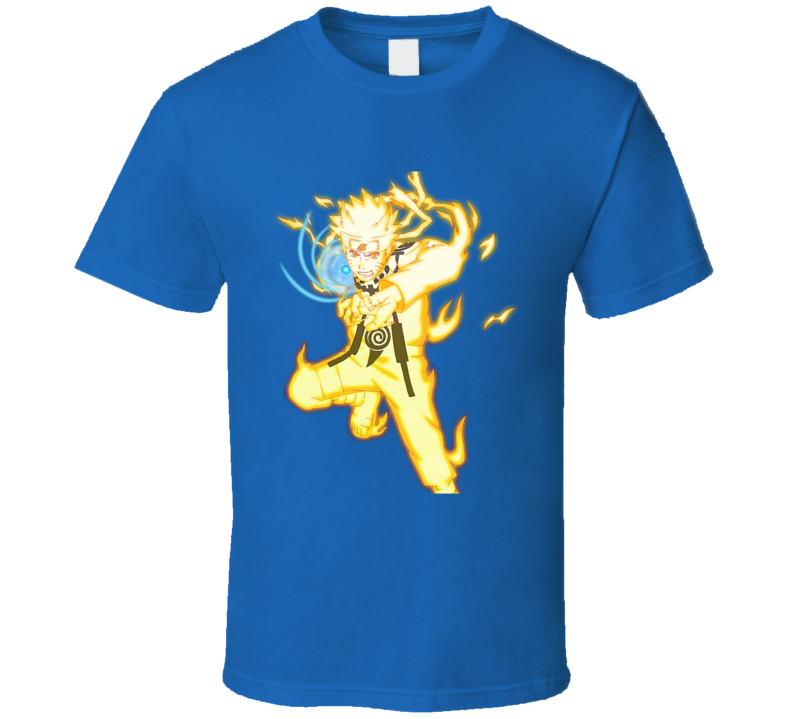 Nine-Tails Chakra Mode Rasengan naruto anime manga T Shirt
