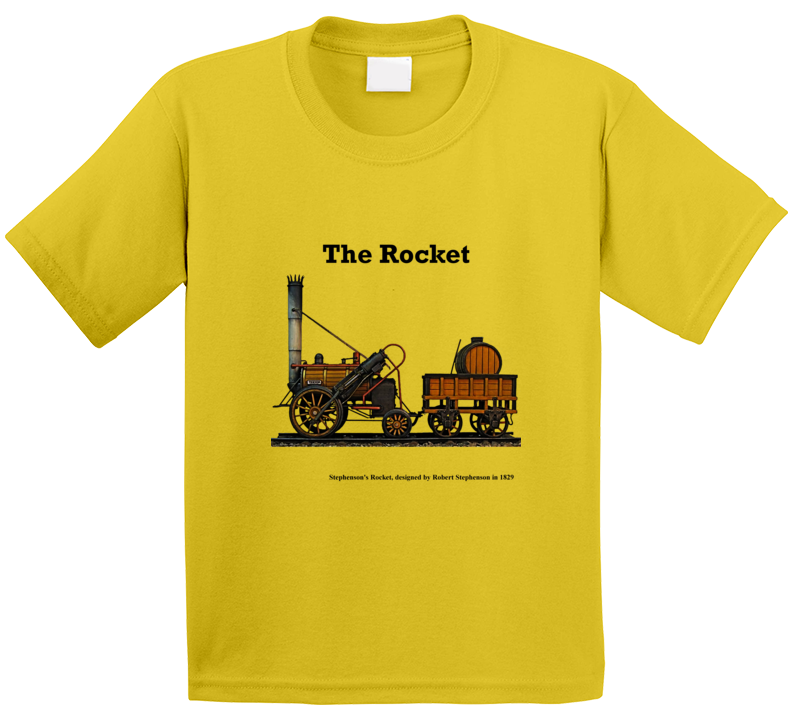 Stephenson's Rocket T Shirt