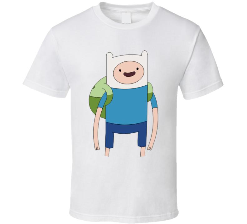 Finn Adventure Time T Shirt