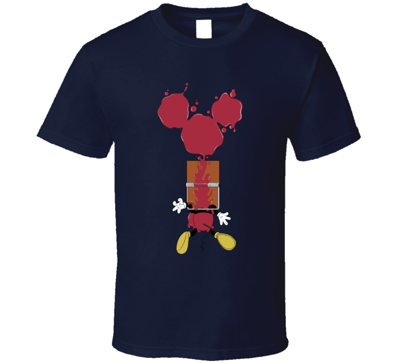 Mickey Mouse Trapped funny T Shirt