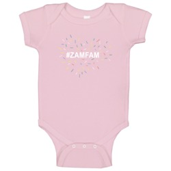 Rebecca Ramolo #zamfam Pink Trending Popular Youtube Personality Baby One Piece