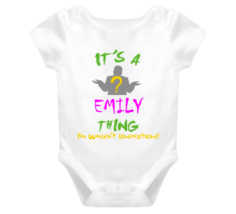 Emily Its A Baby Thing You Wouldnt Understand Baby One Piece