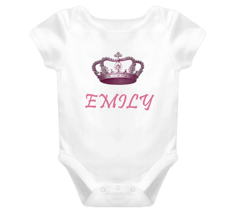 Emily Queen Princess Royalty Baby One Piece