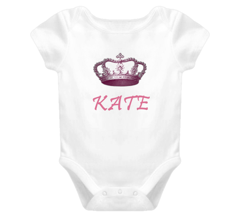 Kate Queen Princess Royalty Baby One Piece