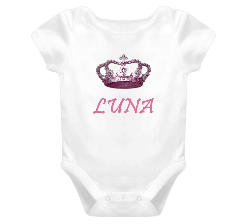 Luna Queen Princess Royalty Baby One Piece