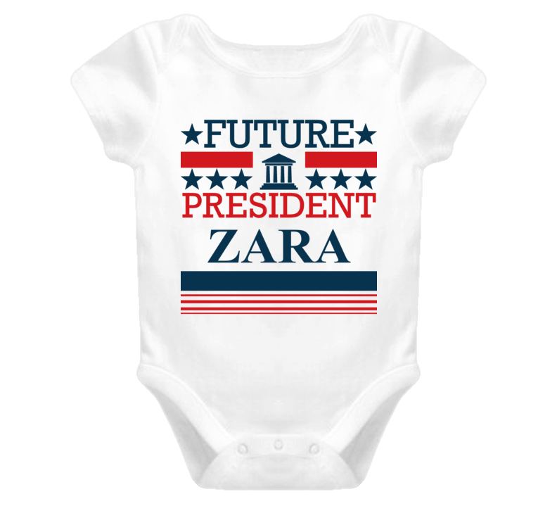 Zara Future President Republican Democrat Baby One Piece