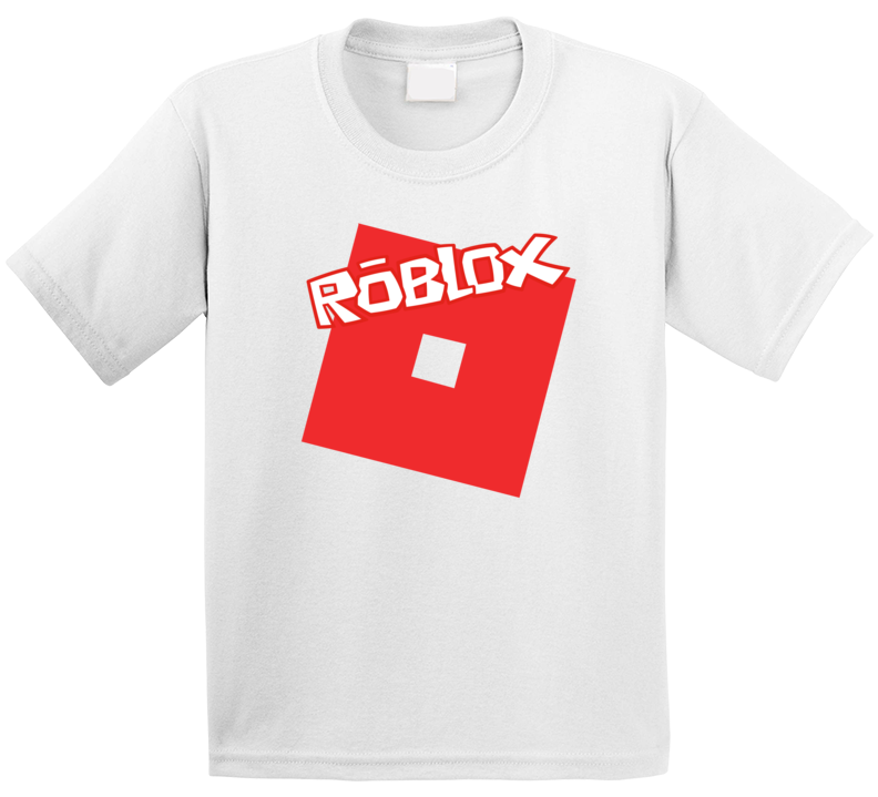 Roblox Gamer Online Social Network Game Gaming App Icon Logo Fan Kids T Shirt