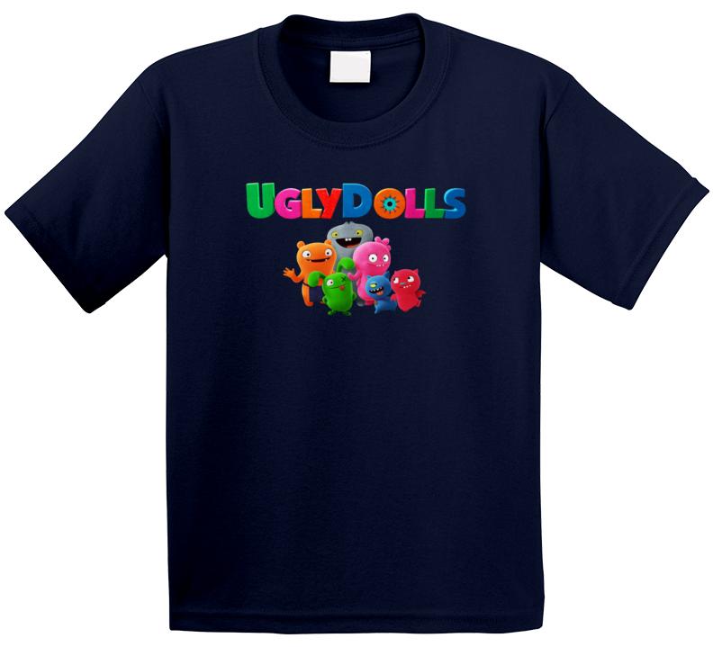 Uglydolls Group Poster Movie Plush Character Kids Kids T Shirt