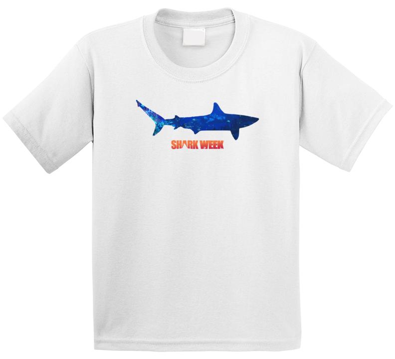 Underwater Animal Sea Life Lover Shark Week Tv Show Fan Kids T Shirt