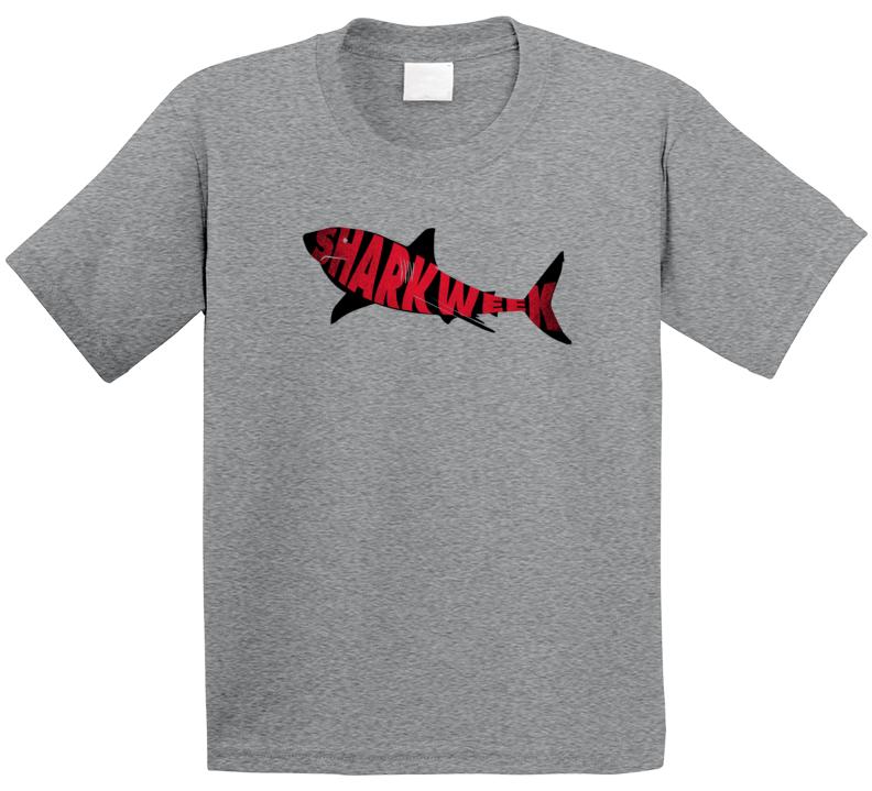 Shark Week Great White Network Tv Show Fan Kids T Shirt