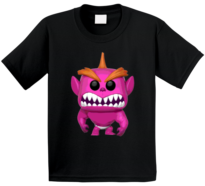 Jack Jack Attack Purple Monster Incredibles 2 Baby Powers Movie Fan Poster Kids T Shirt