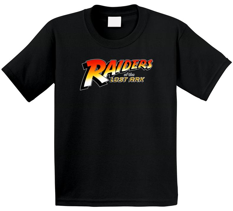 Raiders Of The Lost Ark Indiana Jones Logo The  Goldbergs  Retro Tv Show Character Fan Kids T Shirt