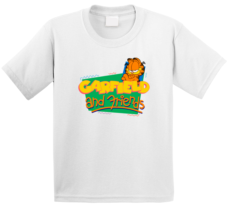 Garfield And Friends Best Kids Tv Shows T Shirt