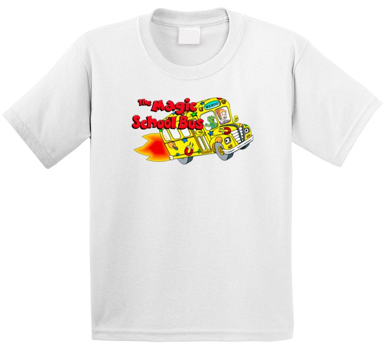 The Magic School Bus Best Kids Tv Shows T Shirt