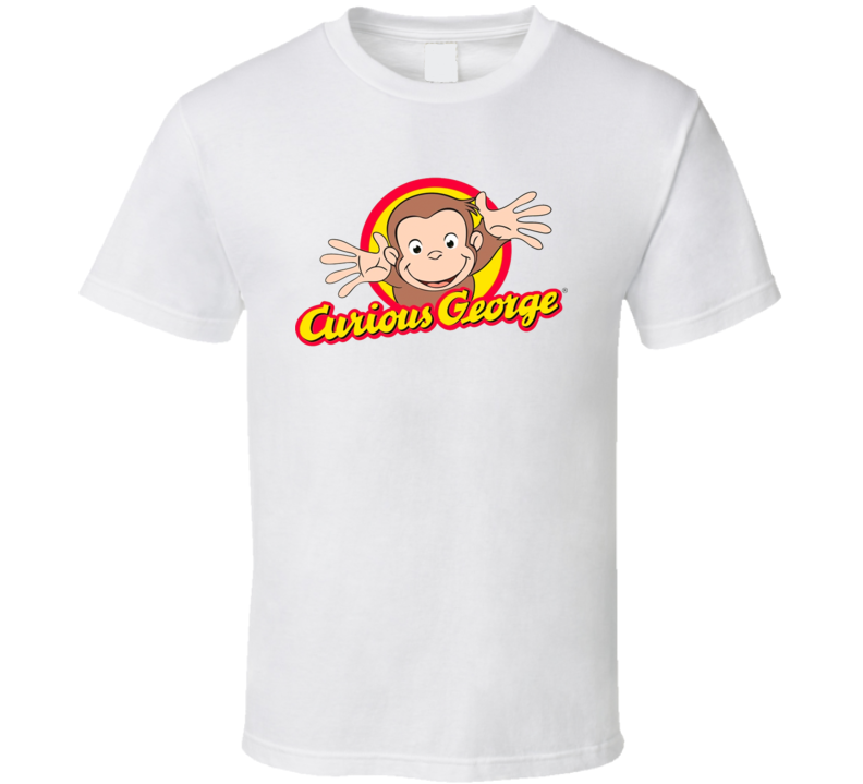 Curious George Best Kids Tv Shows T Shirt