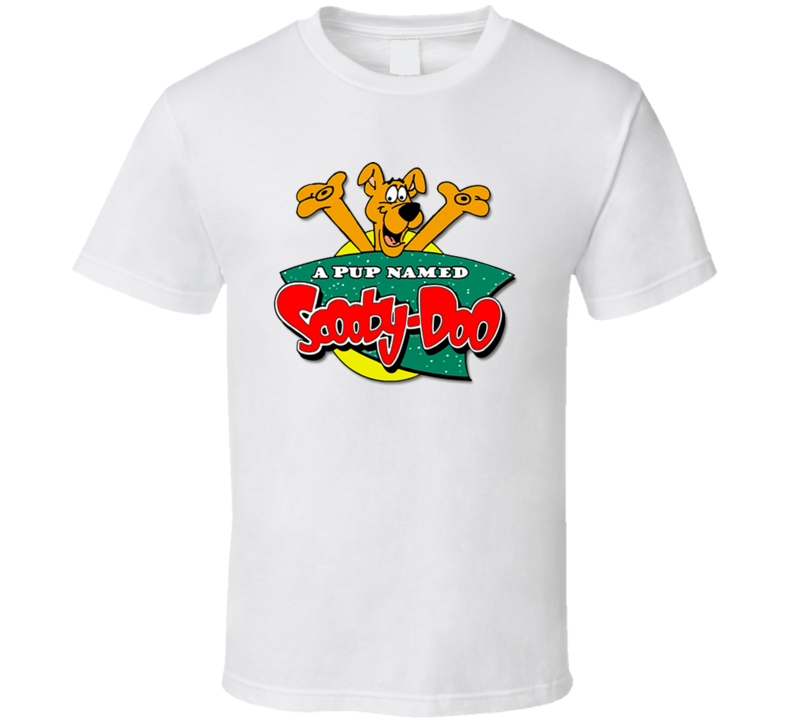 A Pup Named Scooby Doo Kids Tv Shows T Shirt