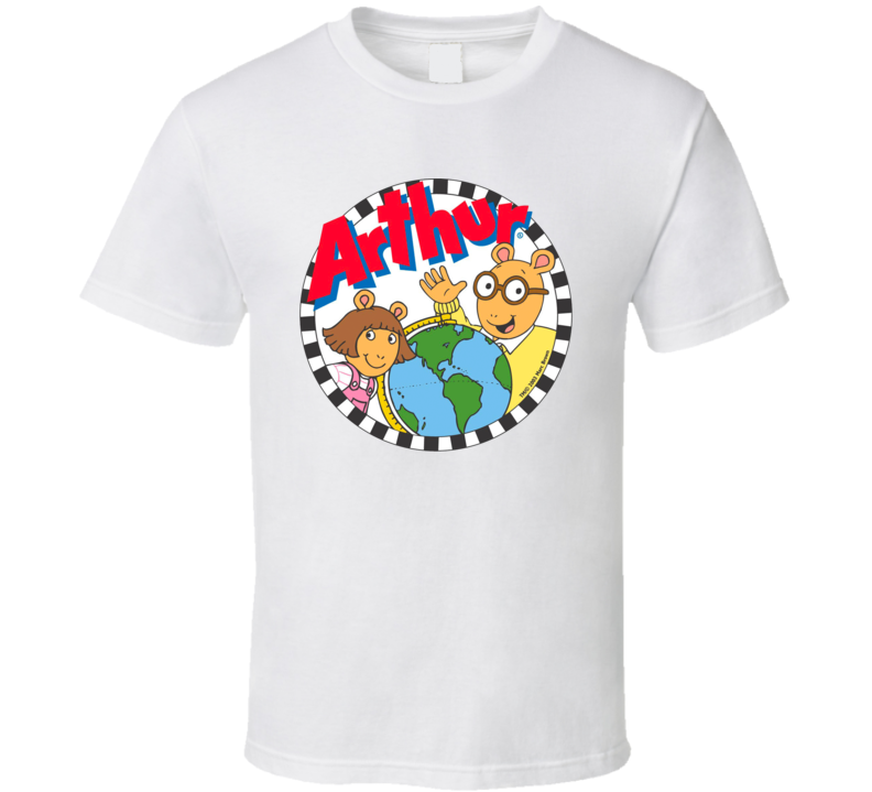 Arthur Kids Tv Shows T Shirt