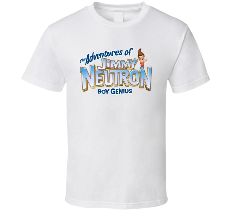 Jimmy Neurtron Kids Tv Shows T Shirt