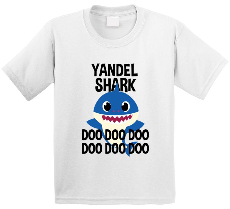 Yandel Shark Doo Doo Doo Baby Shark Popular Childrens Show Personalized T Shirt