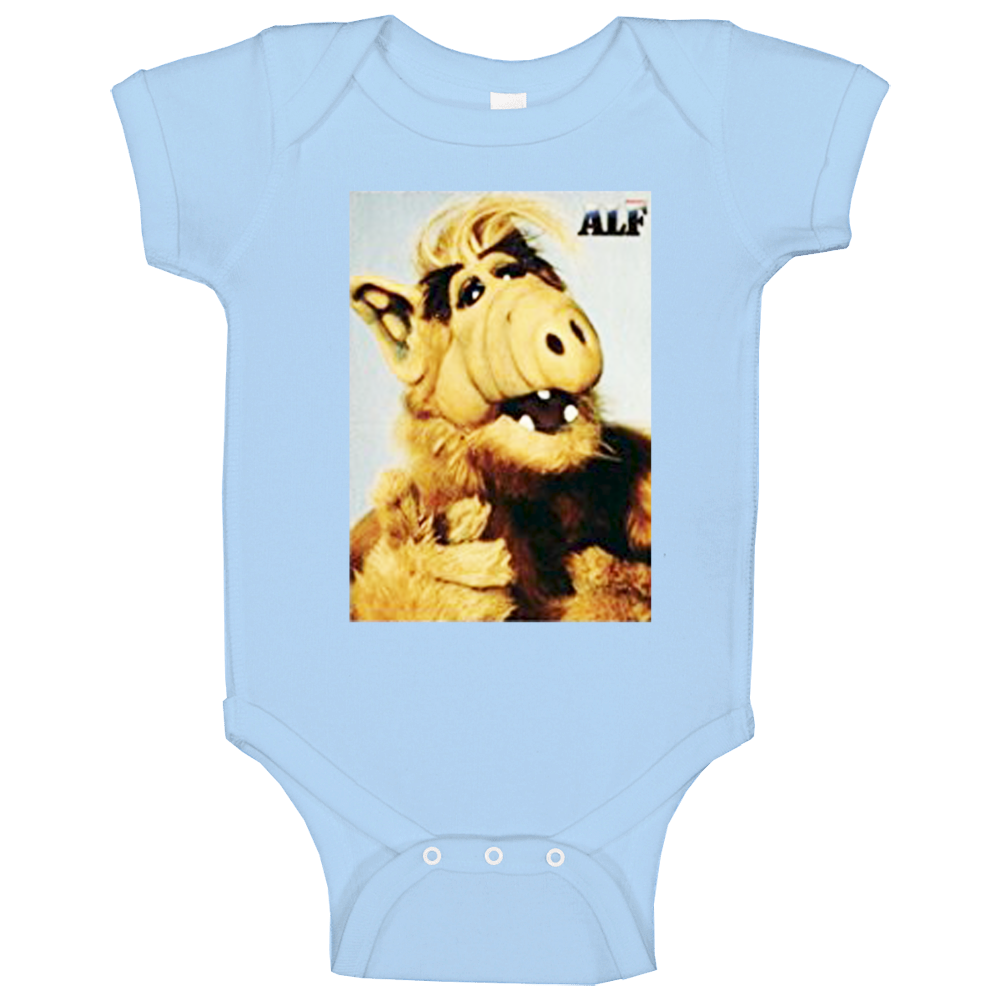 Alf Vintage Style Funny Chuck Popular Tv Show Baby One Piece