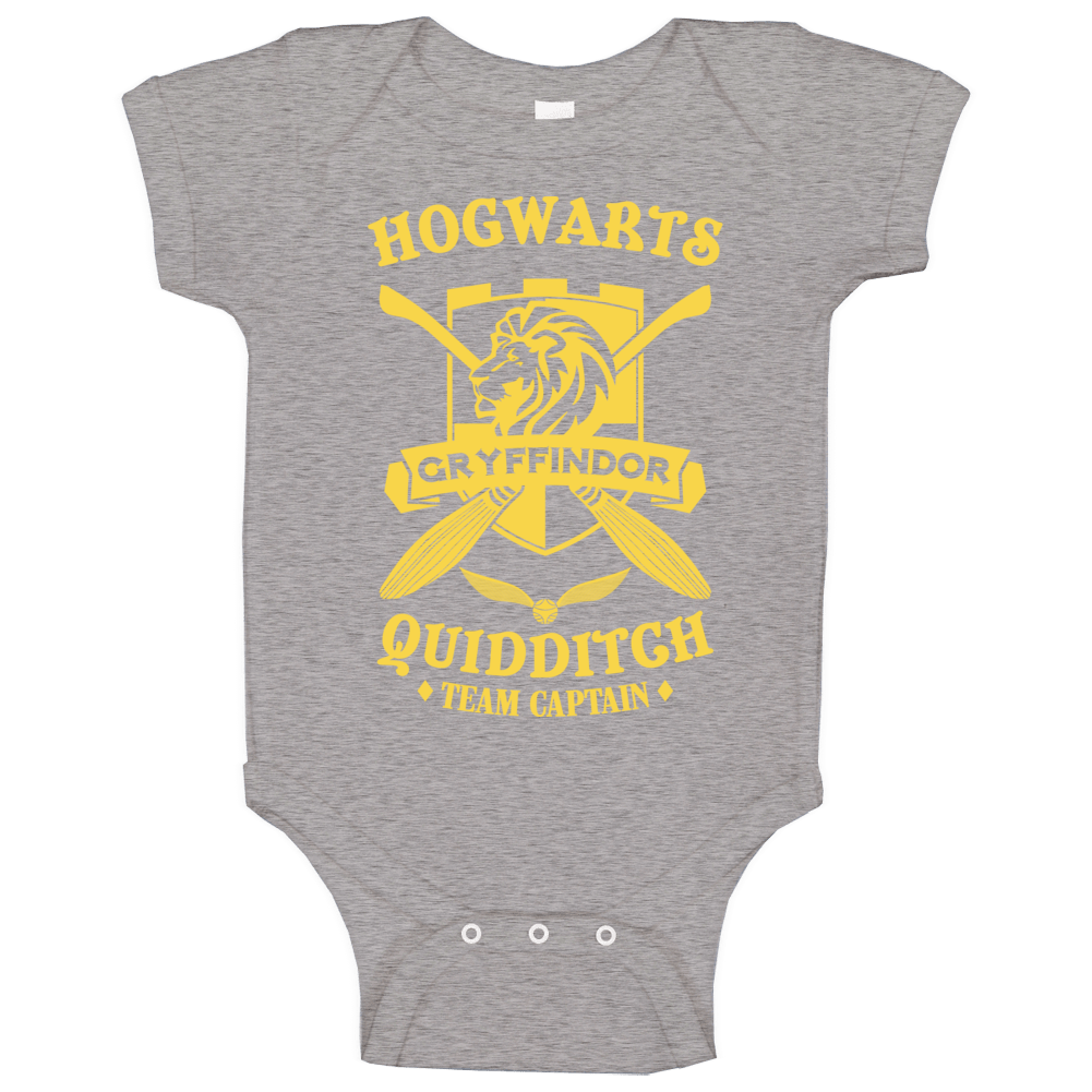 Hogwarts Quidditch Gryffindor Team Captain Harry Potter Baby One Piece