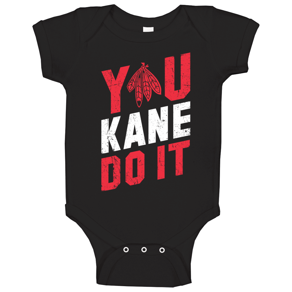 You Kane Do It Chicago Blackhawks Hockey Nhl  Worn Look Baby One Piece