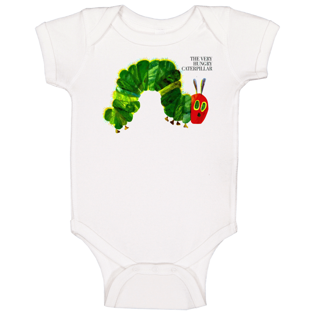 The Very Hungry Caterpillar Children's Book Baby One Piece