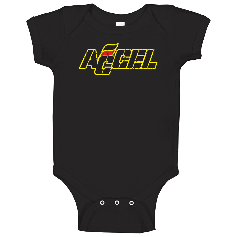 Accel Ignition Automobile Car Parts Cool Brand Logo Baby One Piece