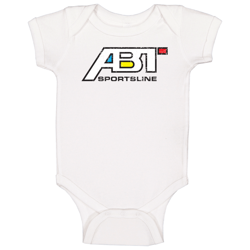 Abt Sportsline Automobile Car Parts Cool Brand Logo Baby One Piece