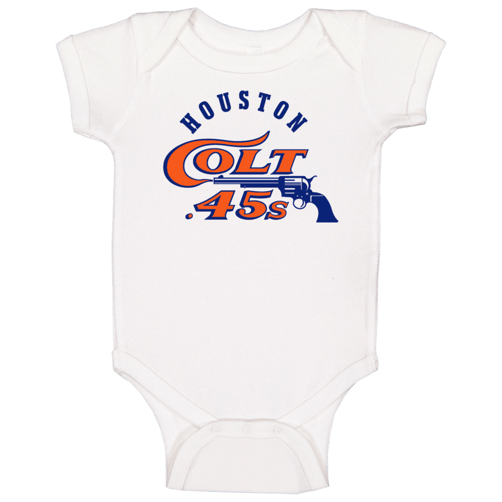 Houston Colt .45s Old Mlb Logo Baby One Piece