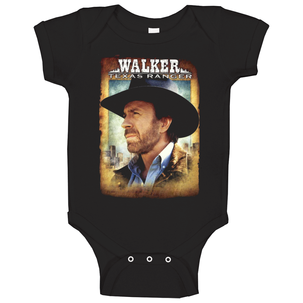 Walker Texas Ranger Tv Series Drama Baby One Piece