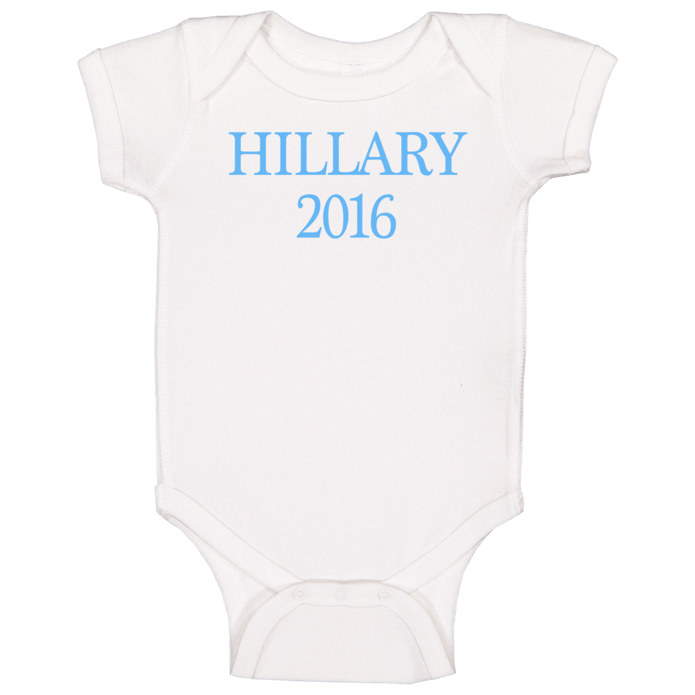 Hillary 2016 Baby Onsie Baby One Piece