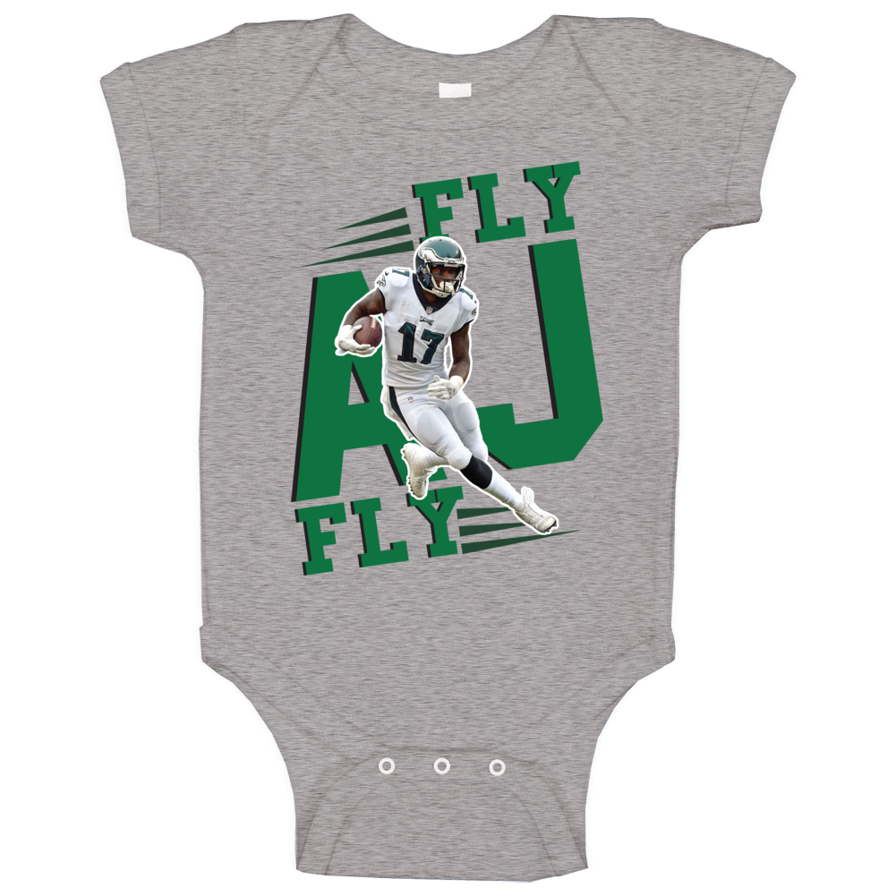 Fly Aj Fly Alshon Jeffery Philadelphia Football Baby One Piece