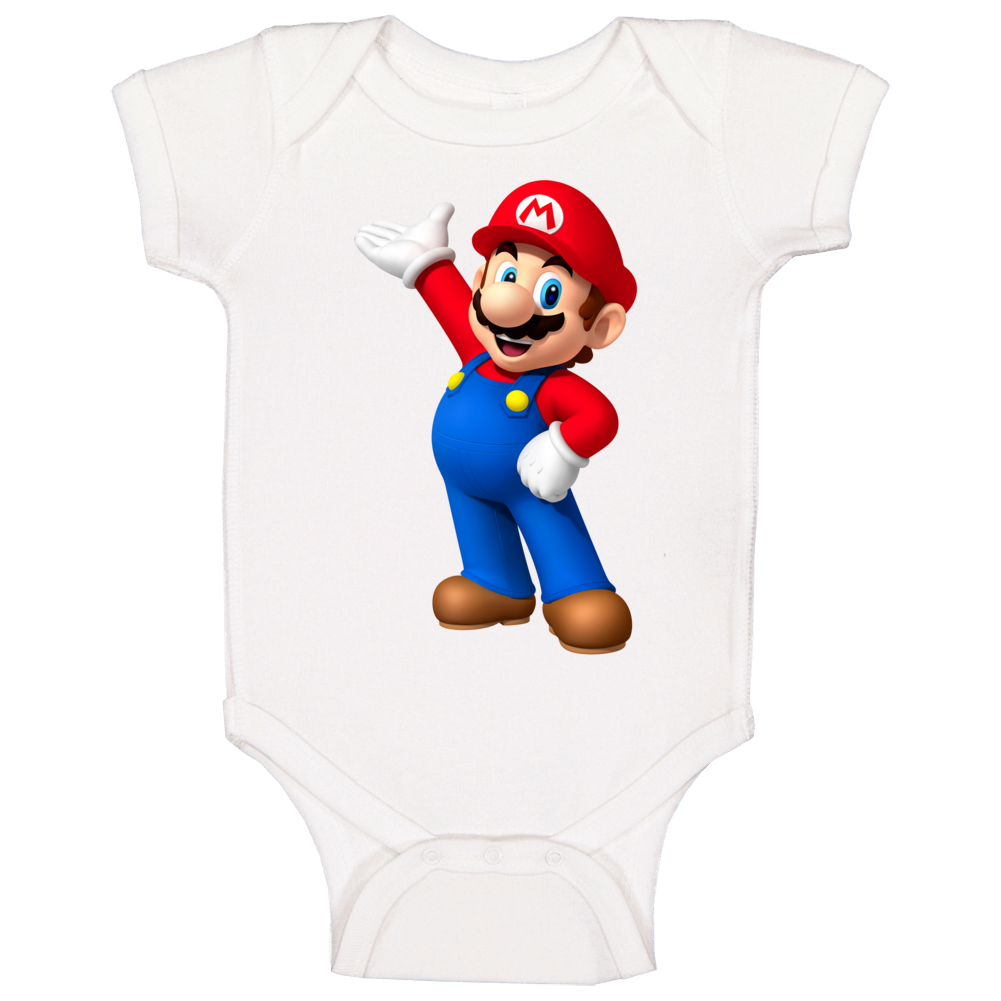 Mario Donkey Kong Video Game Character Baby One Piece