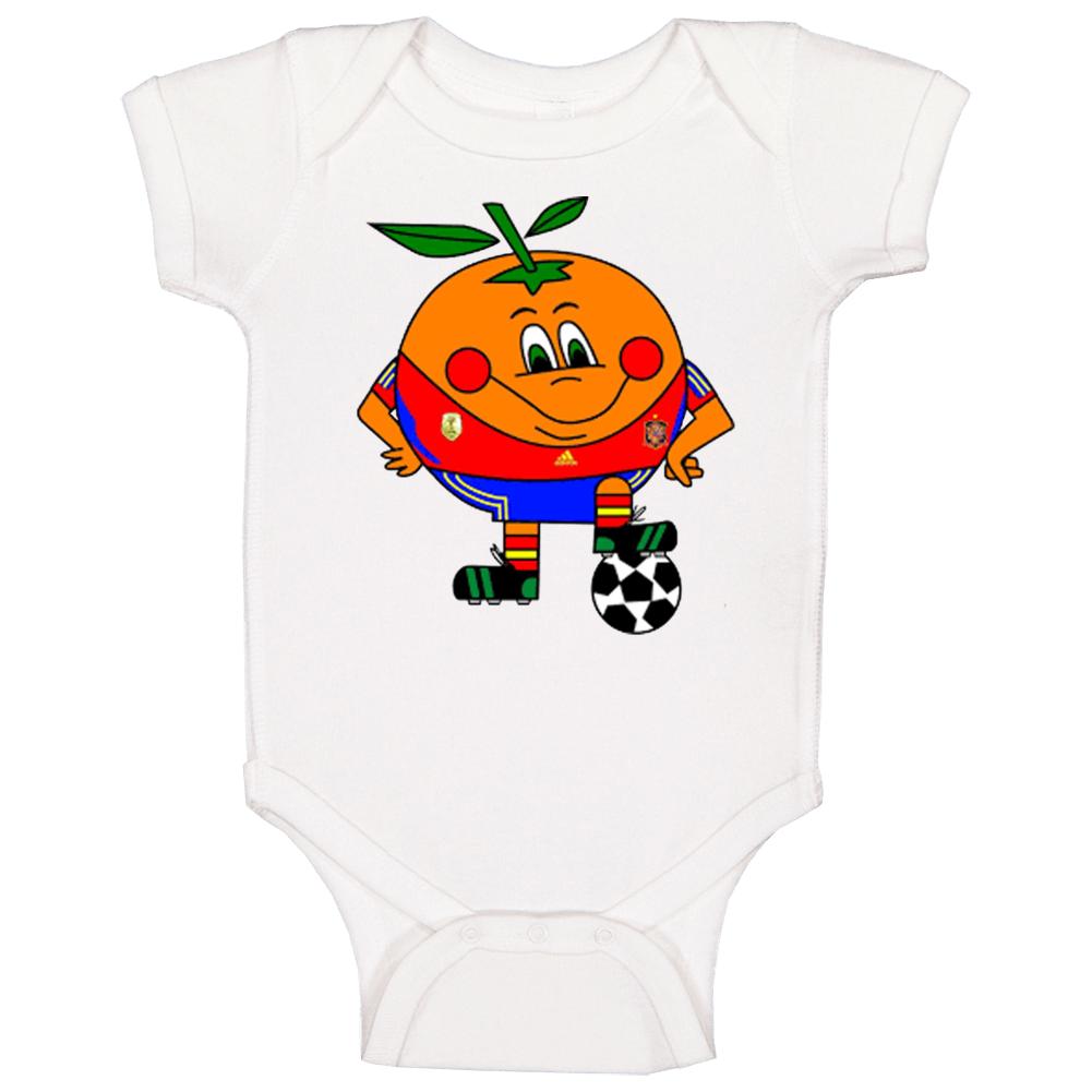 Naranjito Spain 1982 World Cup Mascot Fan Baby One Piece
