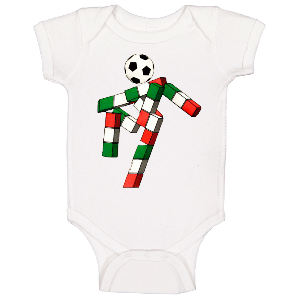 Ciao Italy 1990 World Cup Mascot Fan Baby One Piece