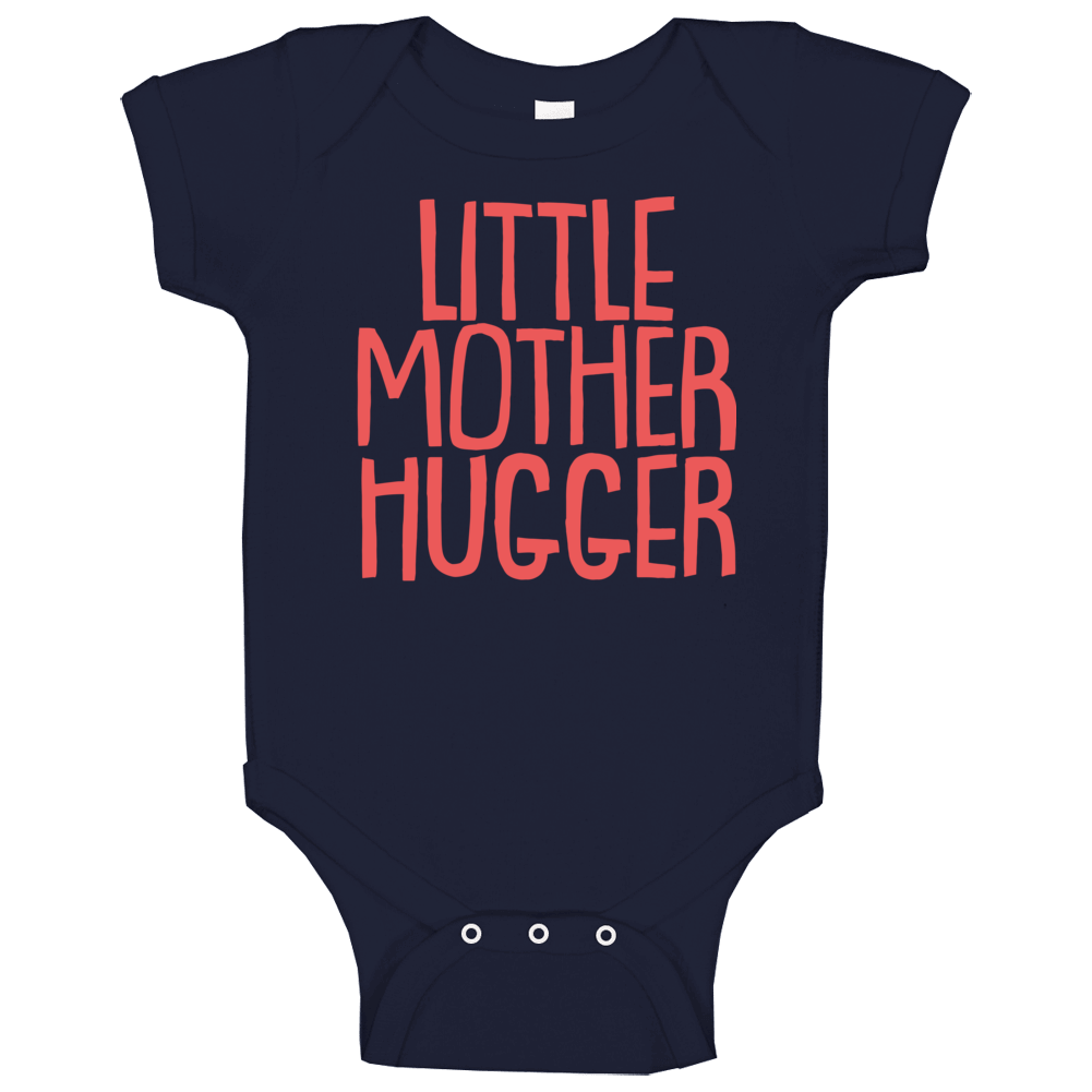 Little Mother Hugger Funny Cool Cute Kids Baby One Piece
