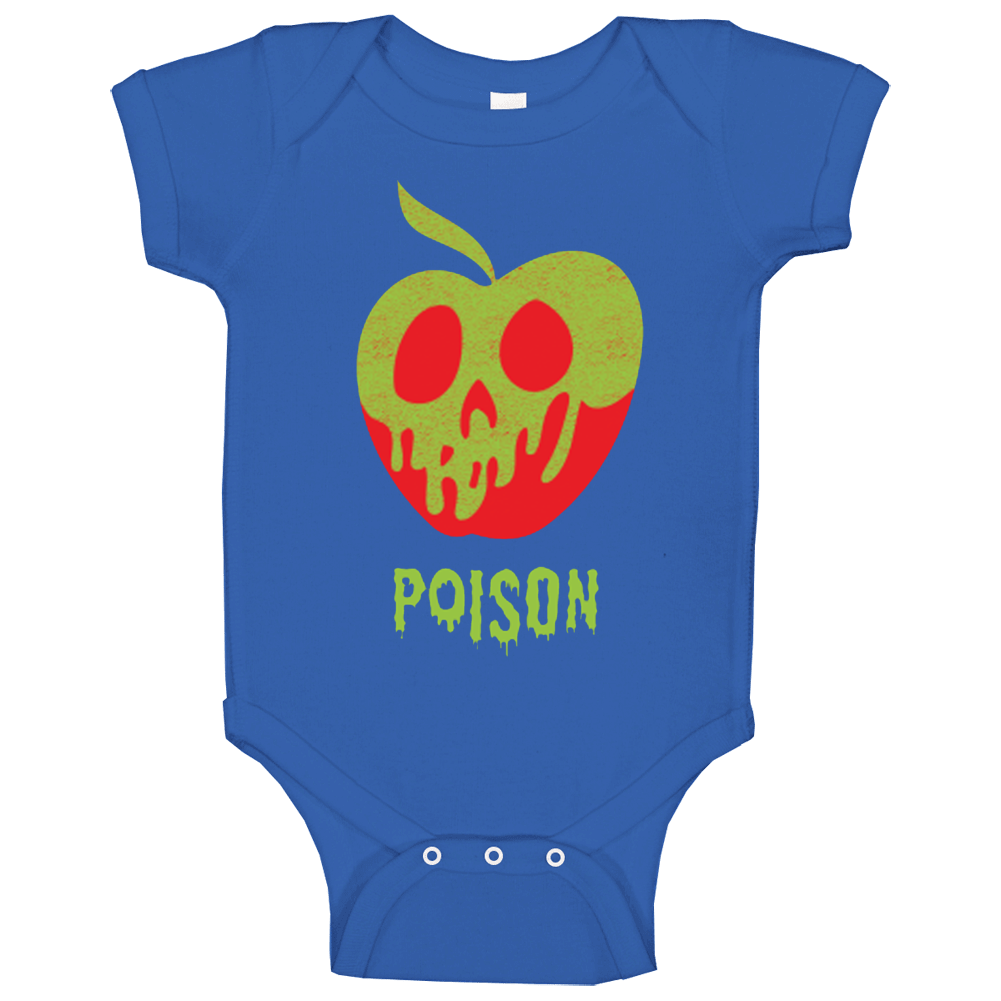 Wreck It Ralph Poison Apple Snow White Womens Baby One Piece