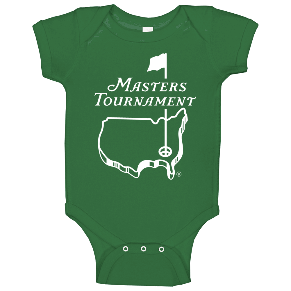 Master Tournament Golf Logo Baby One Piece