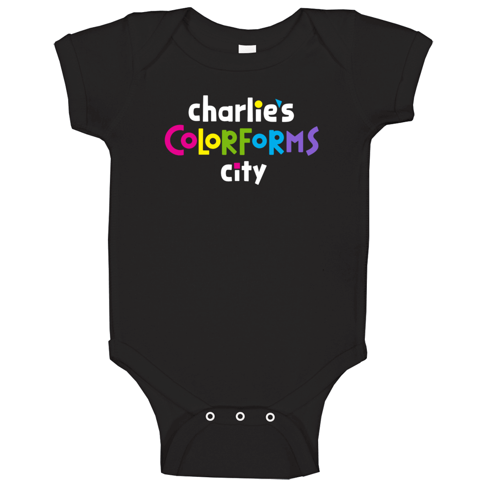 Charlie's Colorforms City Netflix Original Series Fan Baby One Piece