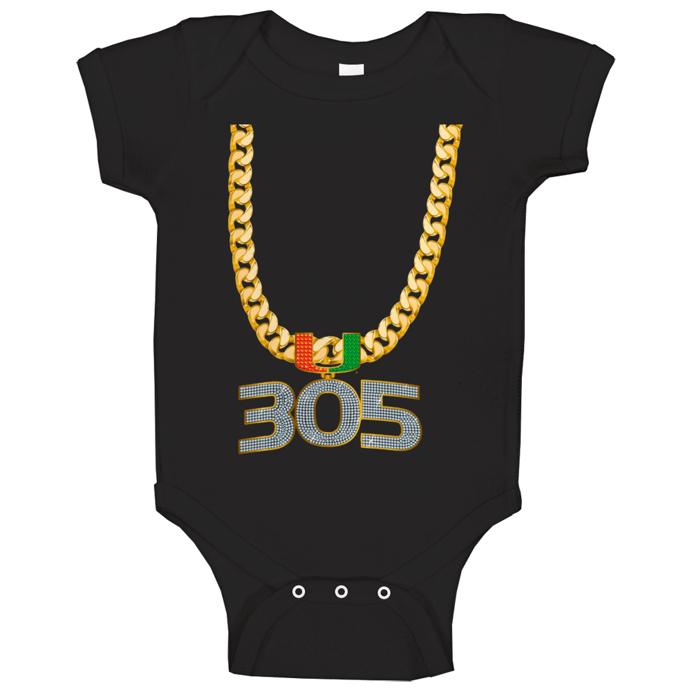 Miami Turnover Chain Baby One Piece