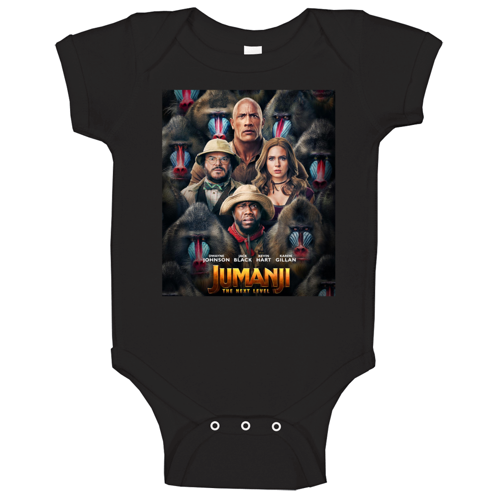 Jumanji The Next Level Cool Movie Fan Baby One Piece