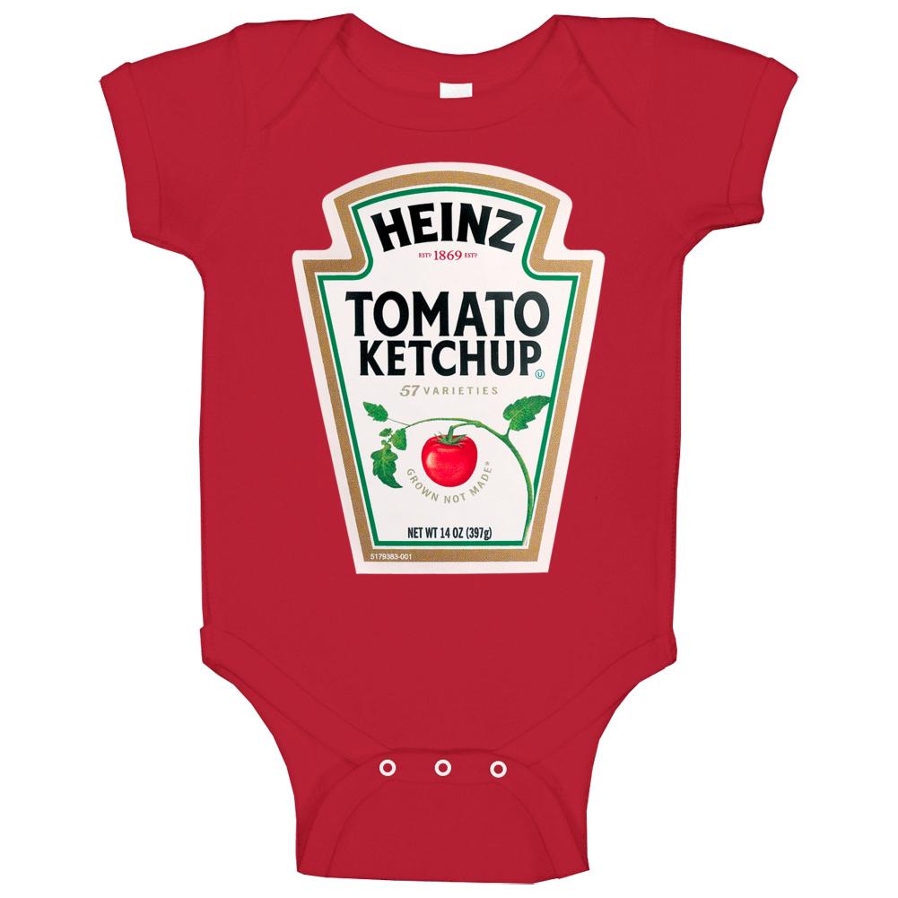 Heinz Tomato Ketchup Halloween Costume Baby One Piece