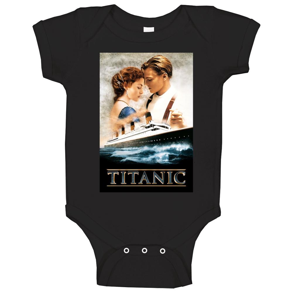 Titanic Movie Dicaprio James Cameron Baby One Piece