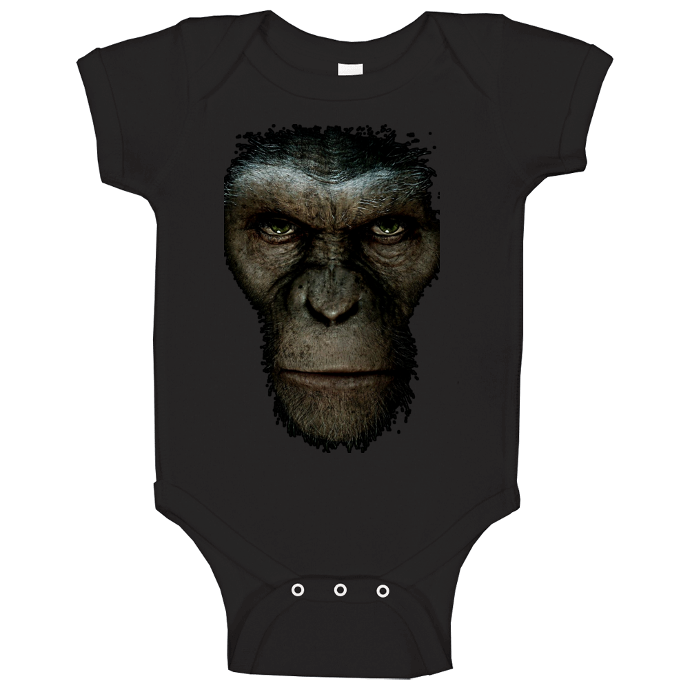 Rise Of The Planet Of The Apes Movie Baby One Piece