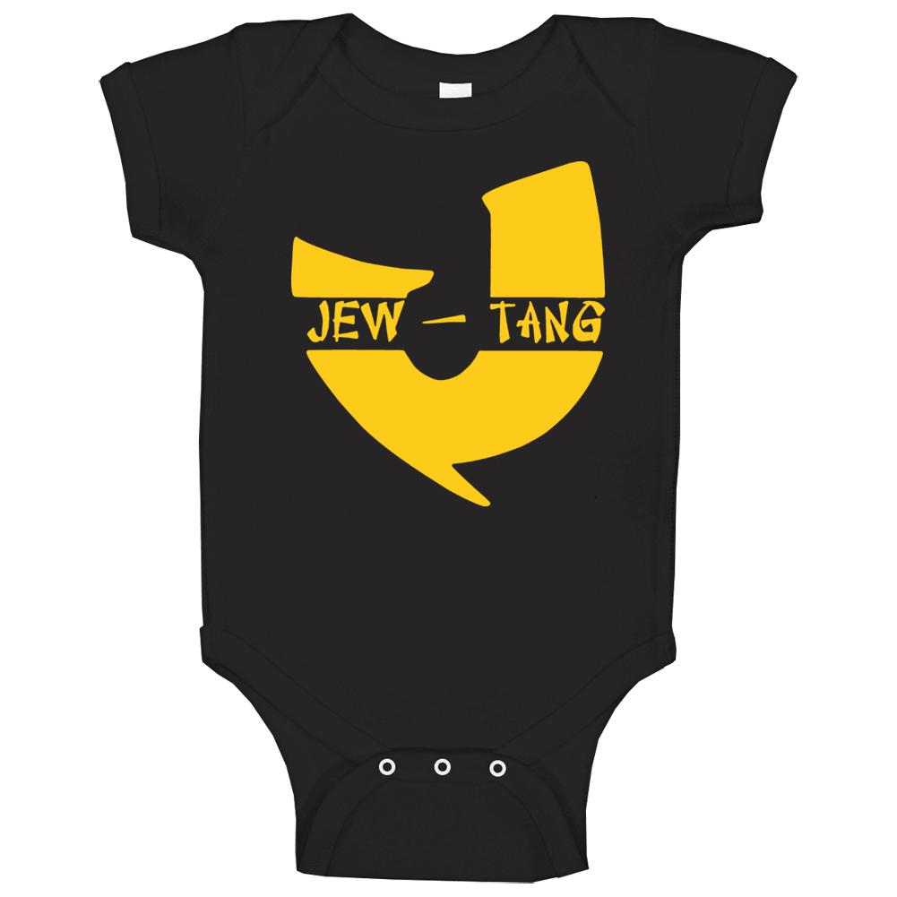 Jew Tang Funny Wutang Hip Hop Rap Jewish Baby One Piece