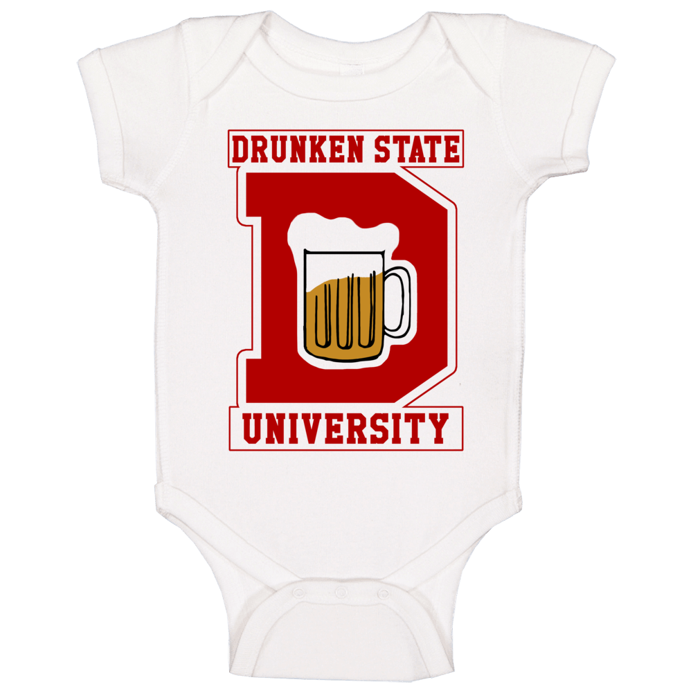 Drunken State University Stiles Teen Wolf Too Popular Movie Baby One Piece